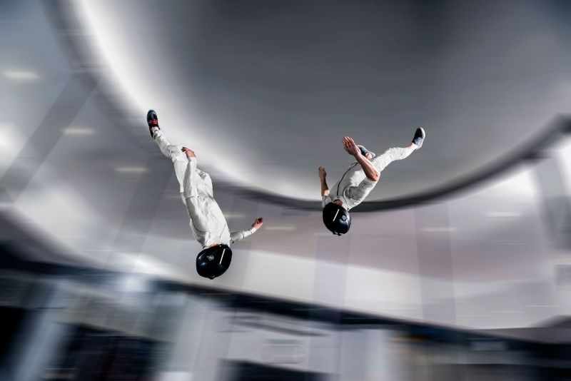 iFLY skydiving, Gold Coast