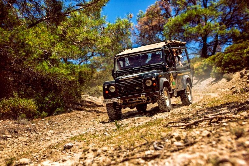 jeep tour Rhodes