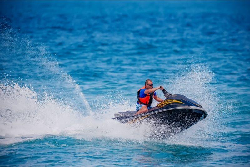 moto d'acqua Lanzarote