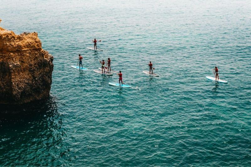 paddleboarding Rhodes