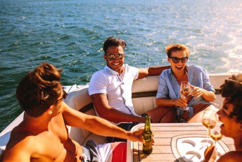 private fun boat tour in Tampa