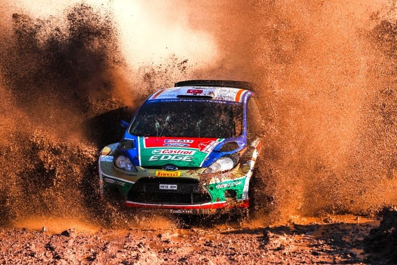 rally car driving in Perth