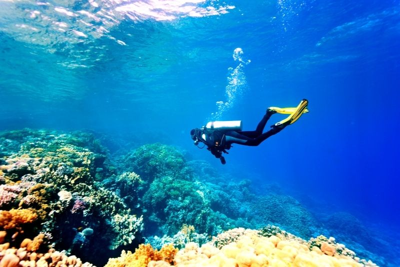 scuba diving Rhodes