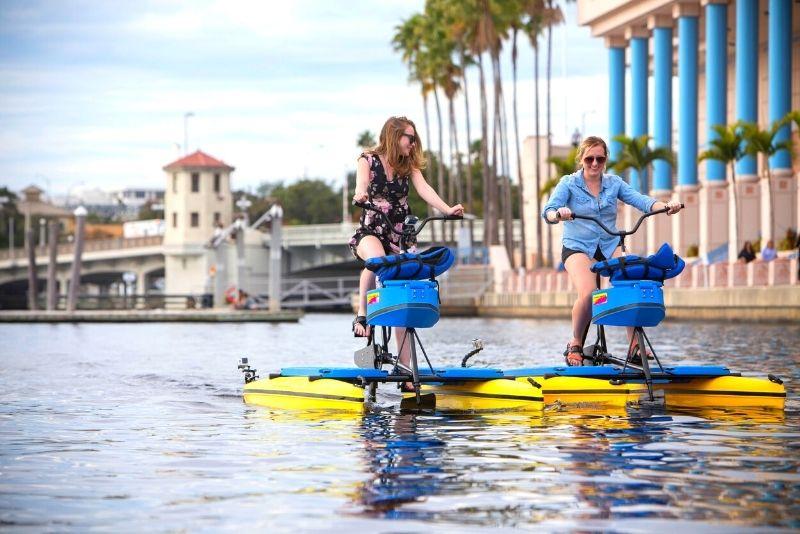 water bike tour in Tampa