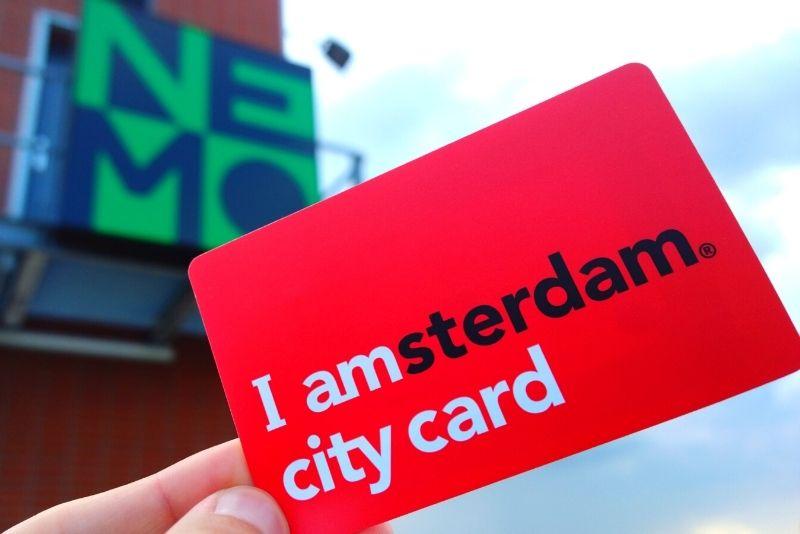 Tarjeta de la ciudad de Amsterdam