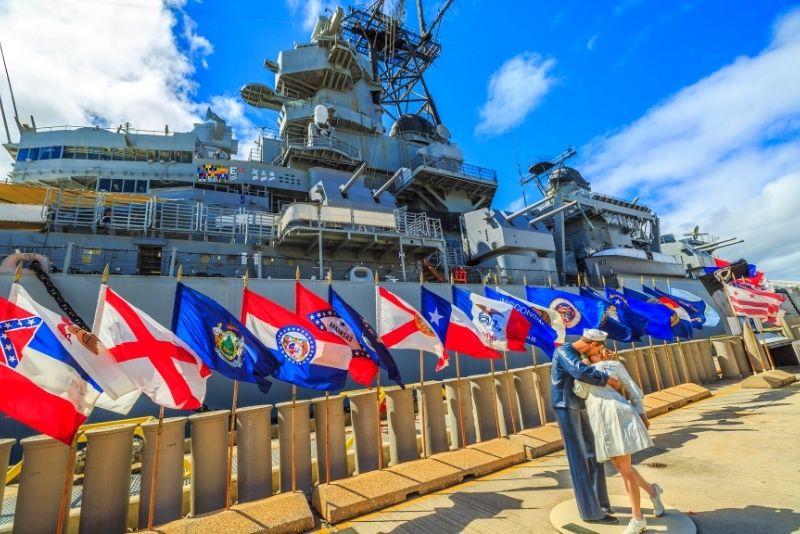 Battleship Missouri Memorial, Oahu, Hawaii