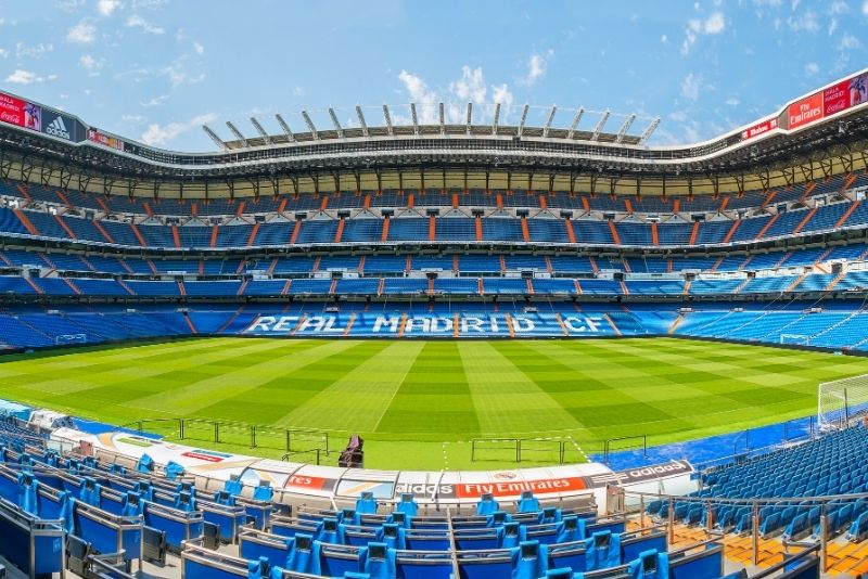 Bernabeu-Stadion, Madrid
