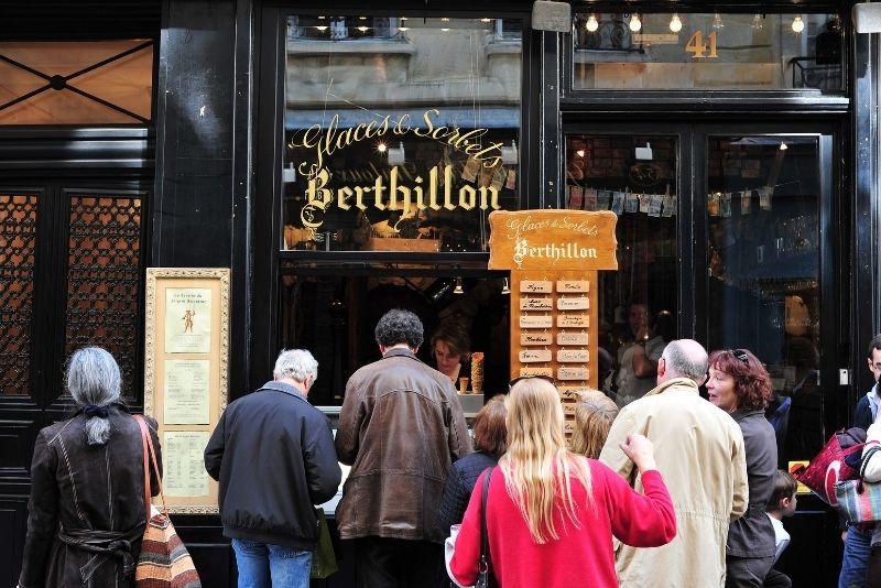 Berthillon on Ile St Louis, Paris