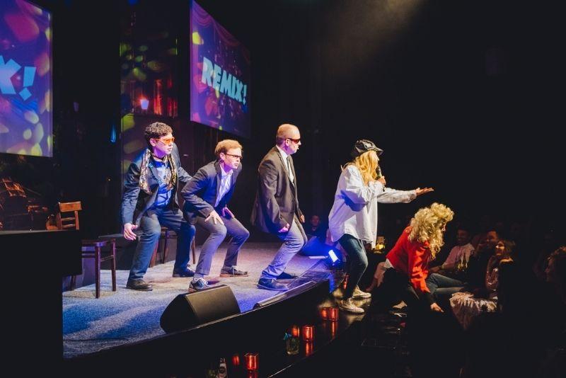 Espectáculo de comedia Boom Chicago, Ámsterdam