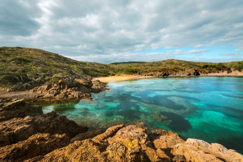 Cala Tamarells Menorca