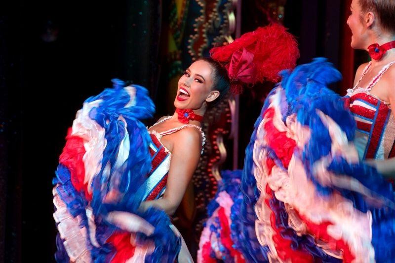 Cancan, Moulin Rouge cabaret, Paris