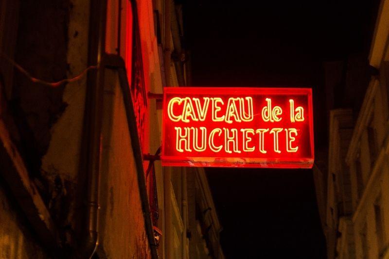 Caveau de la Huchette jazz club, Paris