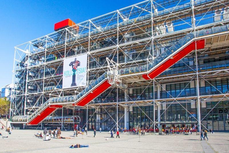 Centre Pompidou museum, Paris