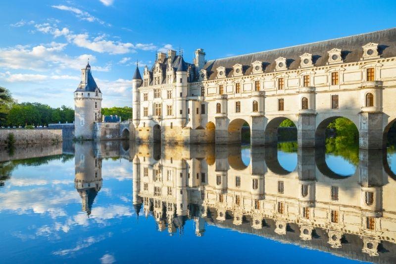 Château de Chenonceau dans la vallée de la Loire, France