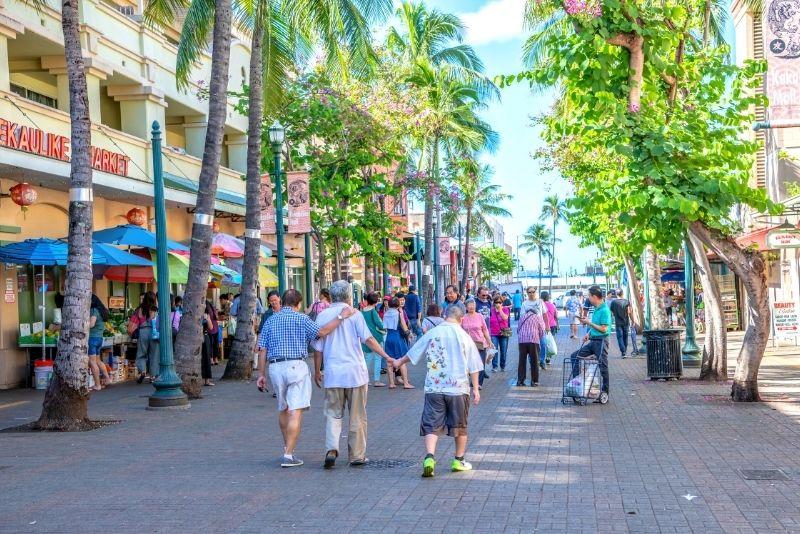 Chinatown district, Honolulu, Oahu