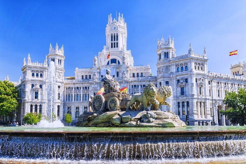 Cibeles-Brunnen, Madrid
