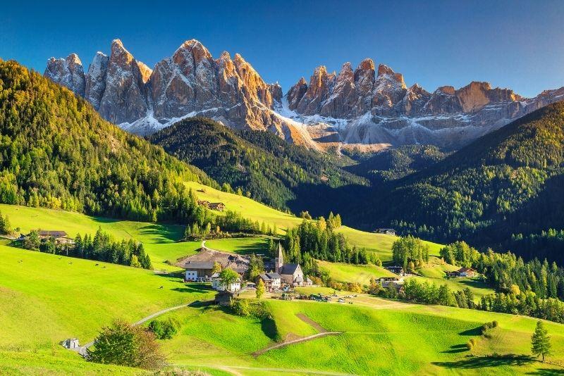 Gita di un giorno sulle Dolomiti