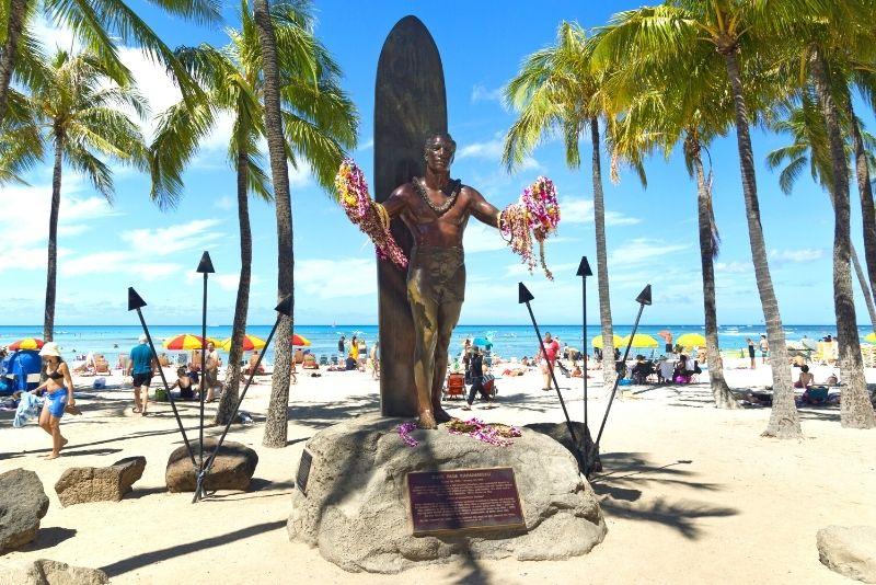 Duke Kahanamoku, Oahu