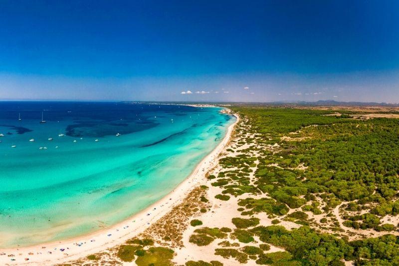 Es ist Trenc Beach Mallorca