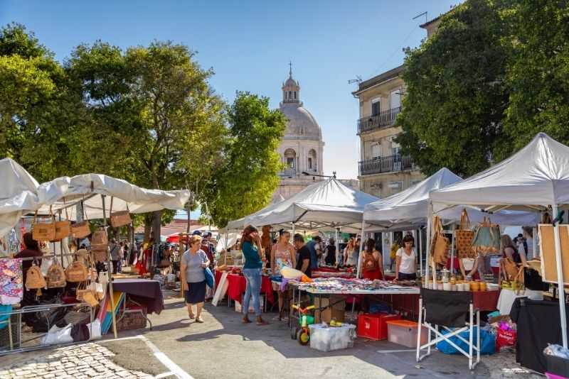 Flohmarkt, Lissabon