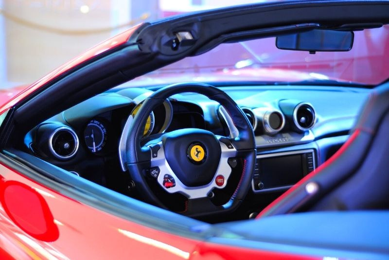 Conduite Ferrari