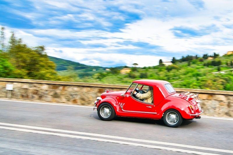 Fiat 500 Tour ab Florenz