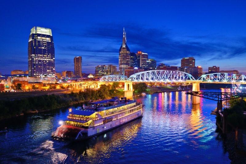 General Jackson showboat tour in Nashville