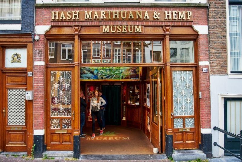 Hash Marihuana & Hemp Museum, Ámsterdam
