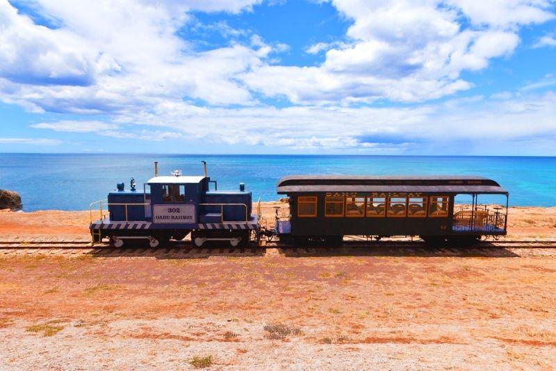 Hawaiian Railway at Ewa Beach, Oahu