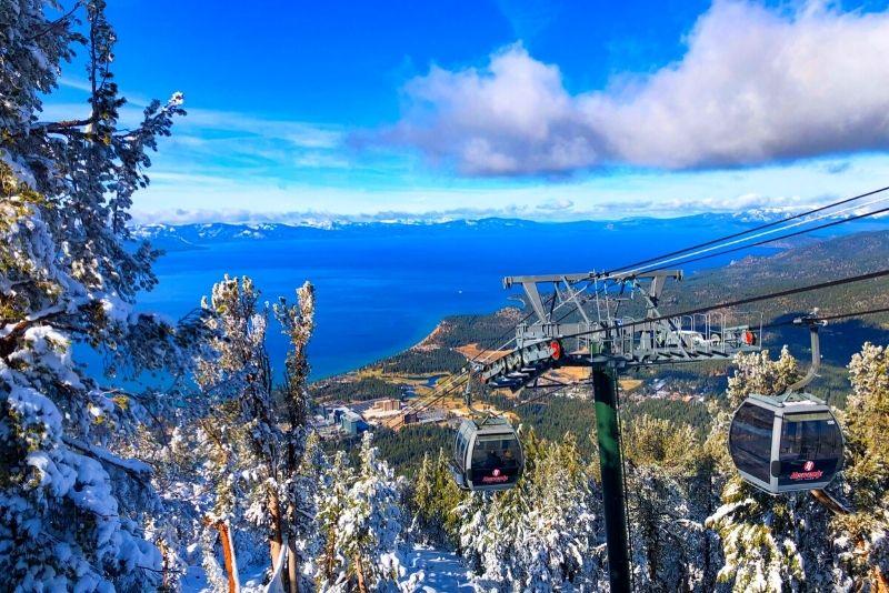 Heavenly gondola ride, Lake Tahoe