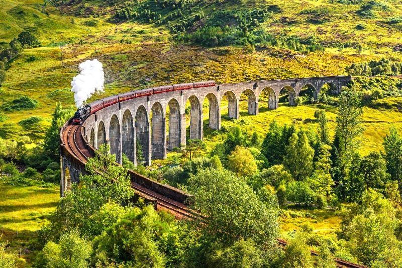 Jacobite Steam Train, Schottland