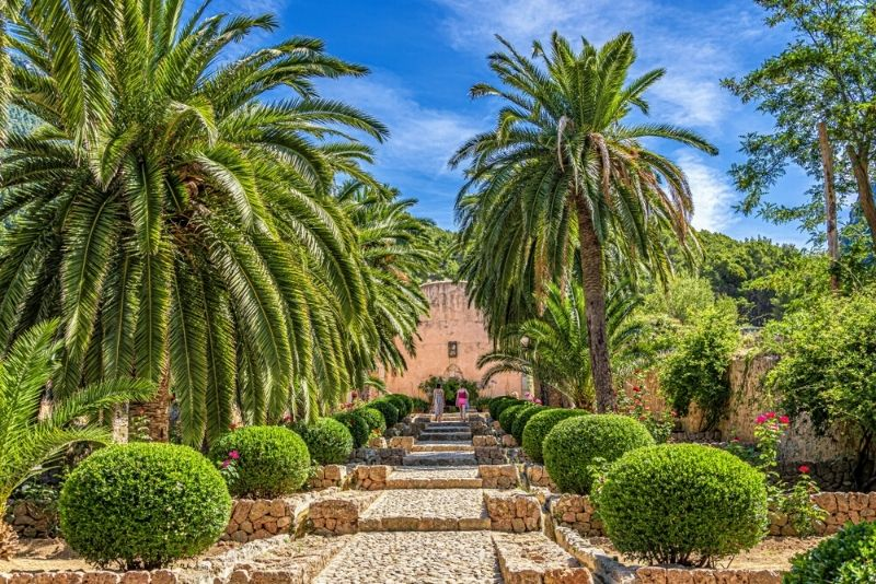 Alfàbia Gärten
