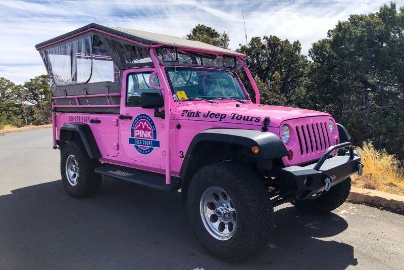 Jeep tours Grand Canyon