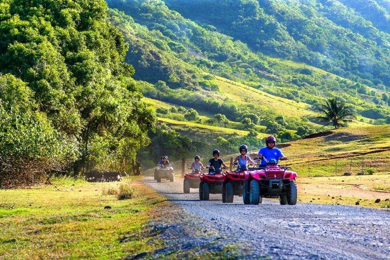 Jurassic Park ATV tour in Oahu