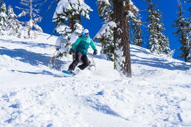 Kirkwood Ski Resort, Lake Tahoe