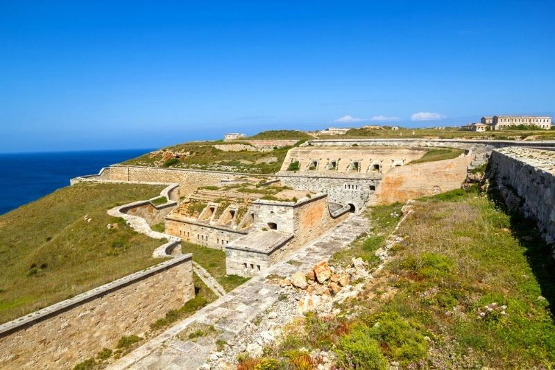 La Mola Festung, Menorca