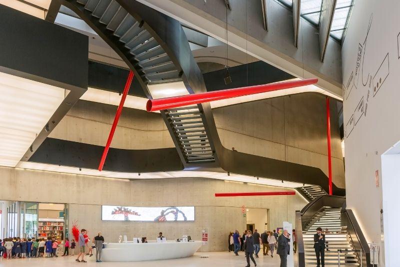 MAXXI contemporary art museum, Rome