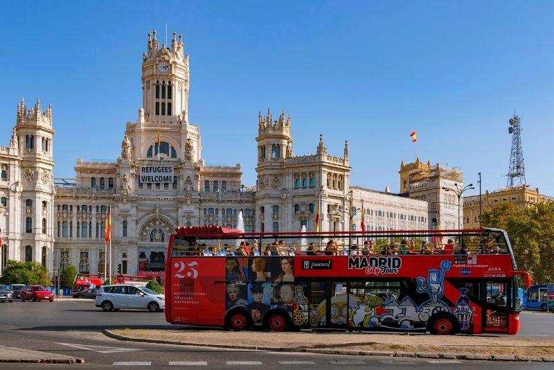 Madrid Hop-On-Hop-Off-Bustour