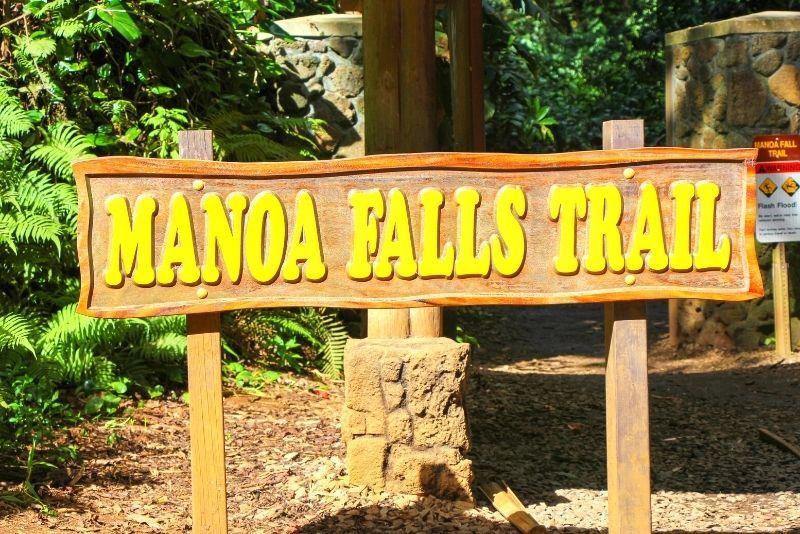 Manoa Falls trail, Oahu