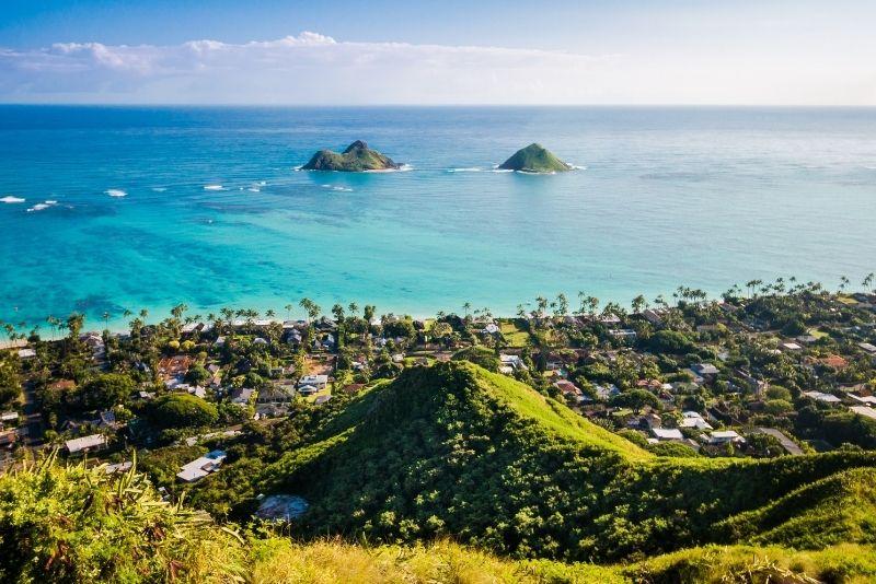 Mokulua Islands, Hawaii
