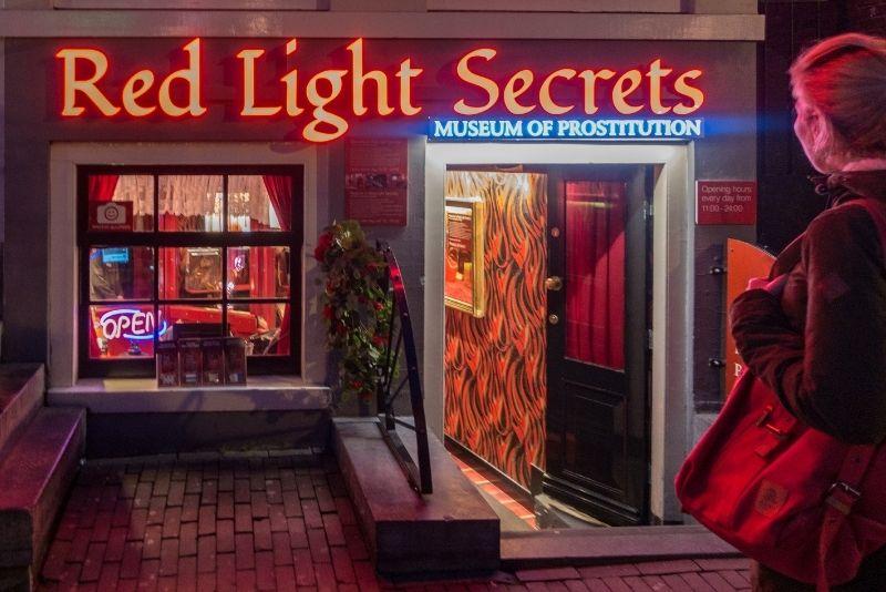 Museo de la prostitución, Amsterdam