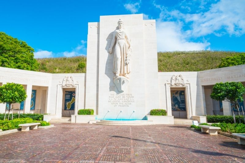 National Memorial Cemetery of the Pacific, Oahu, Hawaii