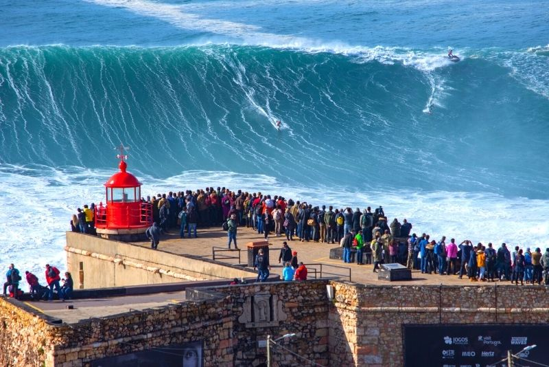 Nazare day trip from Lisbon