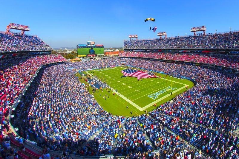 Tennessee Titans at Nissan Stadium