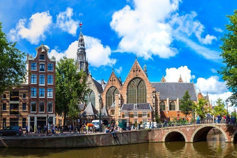 Iglesia de Oude, Amsterdam