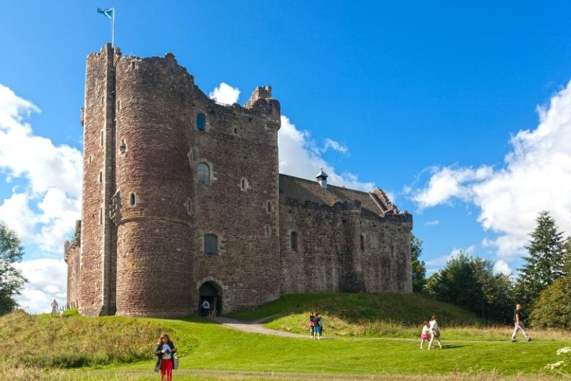Outlander filming locations tour in Edinburgh