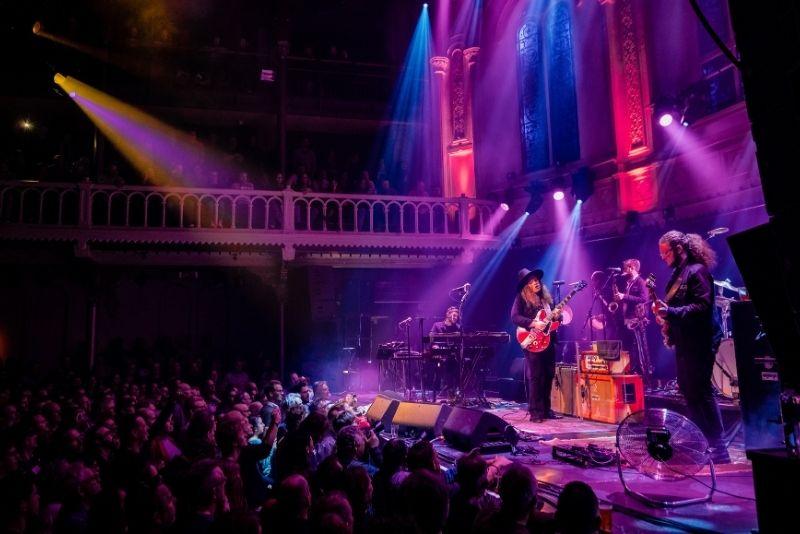 Sala de conciertos Paradiso en Amsterdam