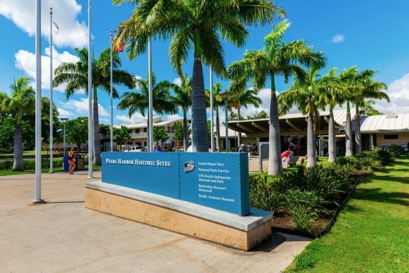 Pearl Harbor National Memorial, Oahu, Hawaii