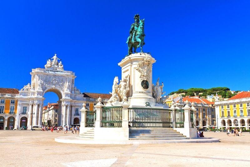 Handelsplatz, Lissabon