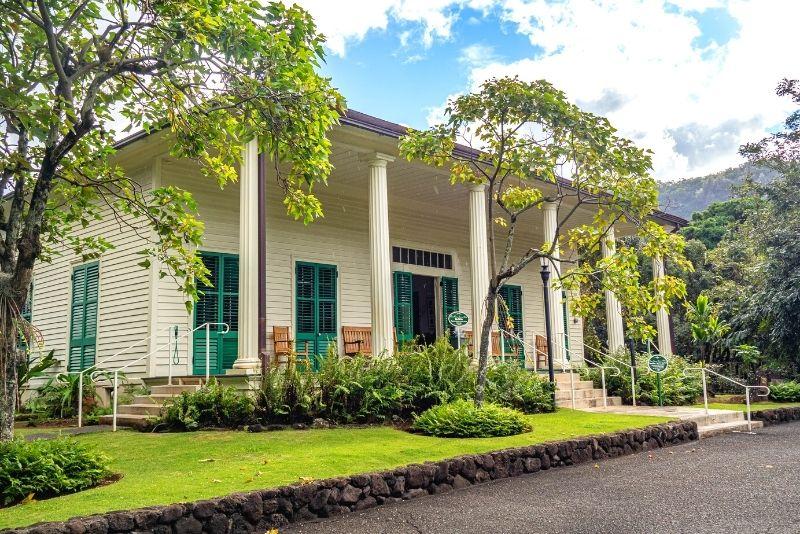 Queen Emma's Summer Palace, Oahu